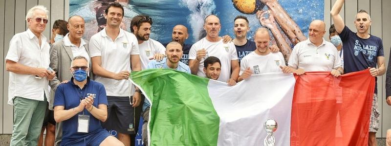 LA LAZIO PALLANUOTO PARALIMPICA E' CAMPIONE D'ITALIA